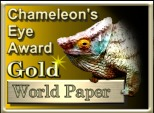 Chameleon's Eye Gold Award