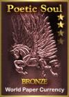 Poetic Soul Bronze Award Dimensions: 100 x 140 Size: 7.96 KB