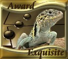 The Reptiles Exquisite Award  Dimension: 136 x 118 Size: 8.62 KB Site is now Closed