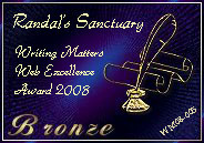 Writing Matters Web Excellence Bronze Award
