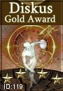 Diskus Gold Award