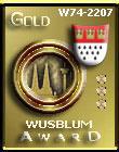 Wusblum Gold Award Dimensions: 110 x 140 Size: 7.59 KB