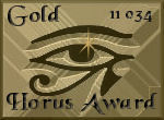 Horus Gold Award
