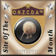 O.N.Z.C.D.A SOTM March 2012 Achiever