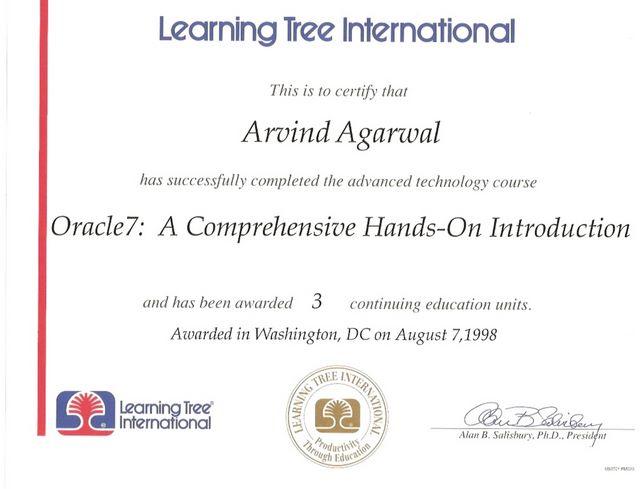 Oracle - Advanced Training