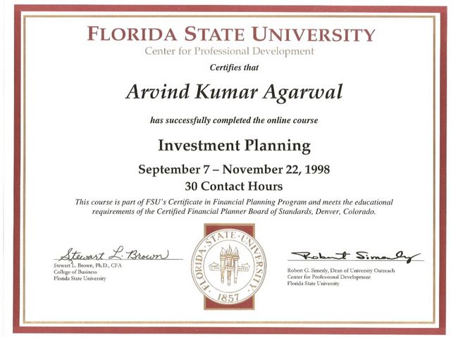 Financial Planner - University of Florida