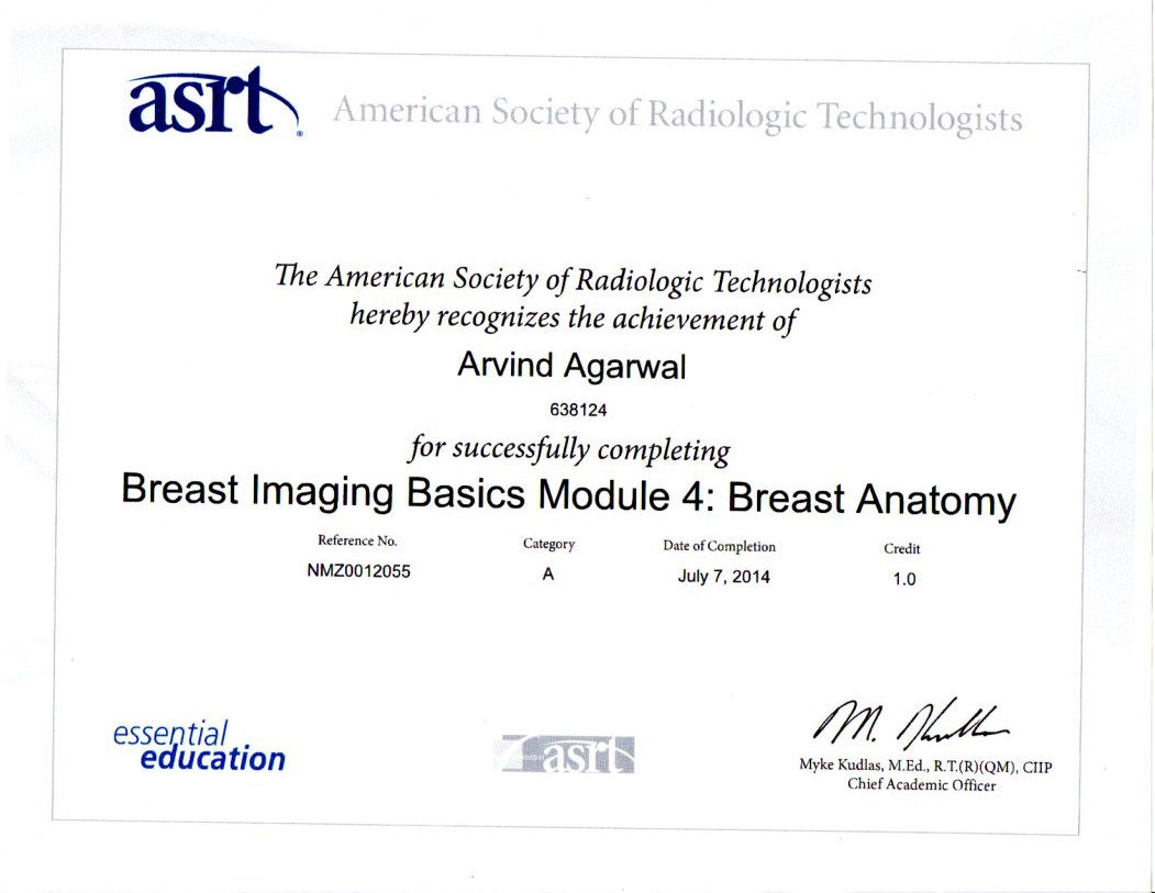 Breast Imaging Module 3
