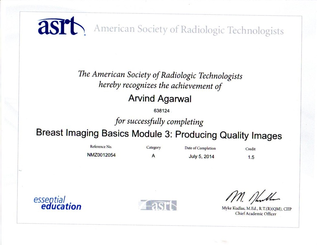 Breast Imaging Module 4