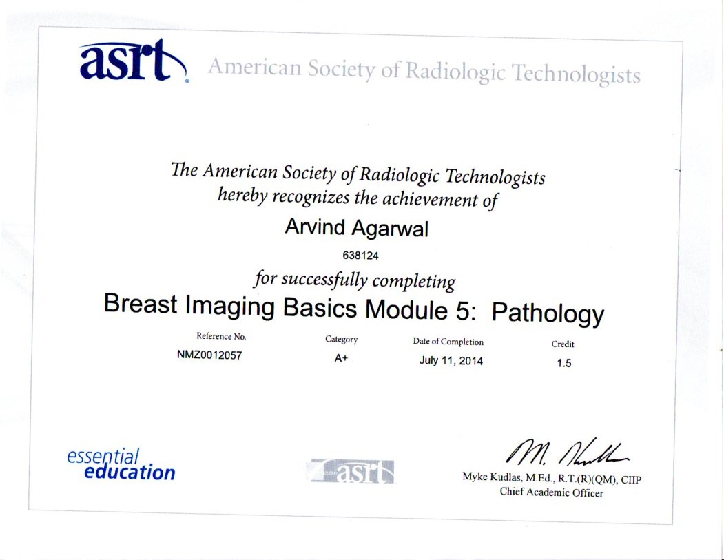 Breast Imaging Module 5