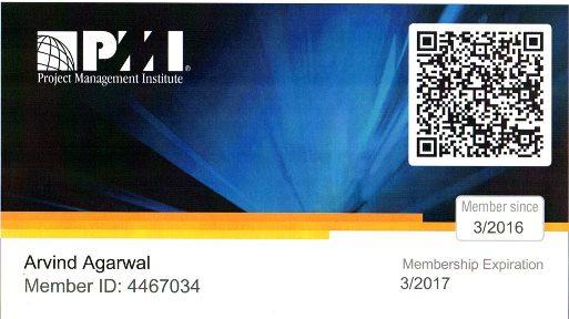 PMP Card
