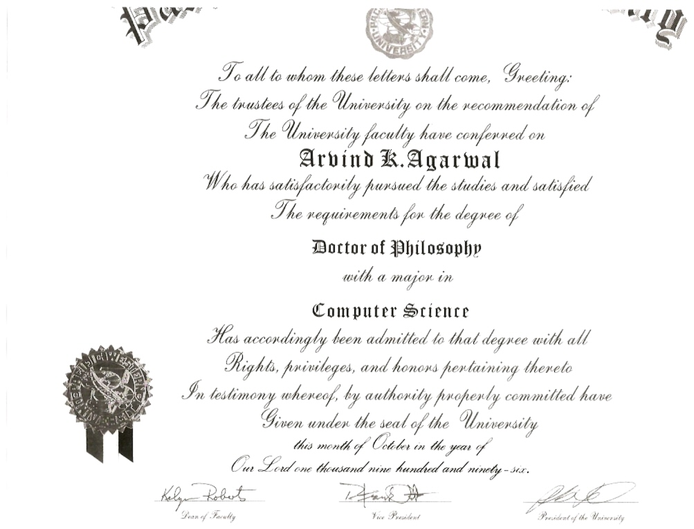Ph.D Degree