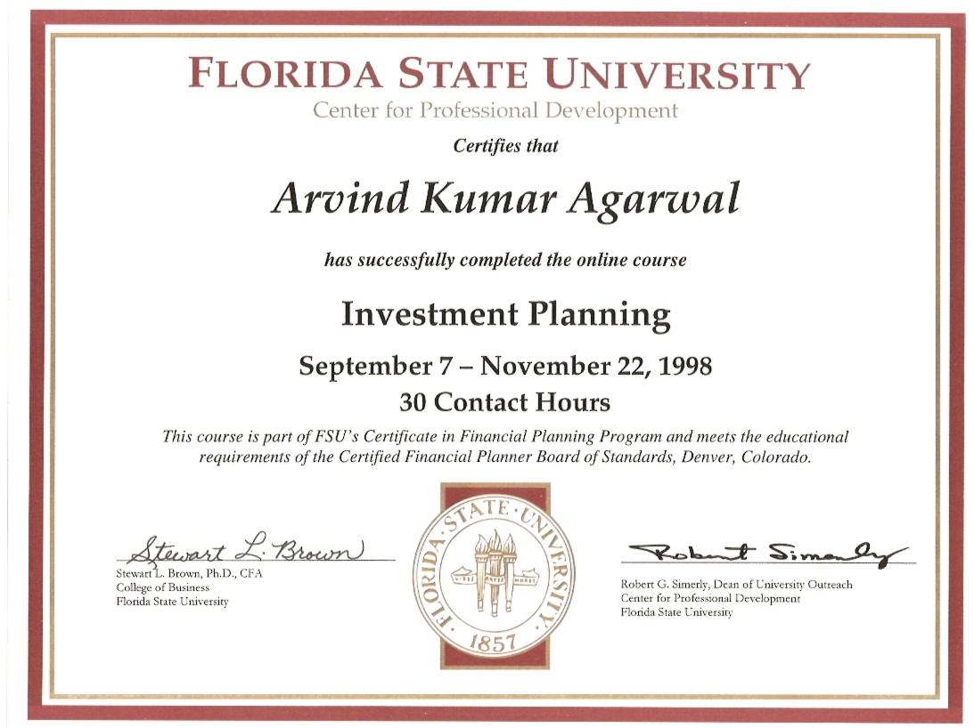 Florida University 1998