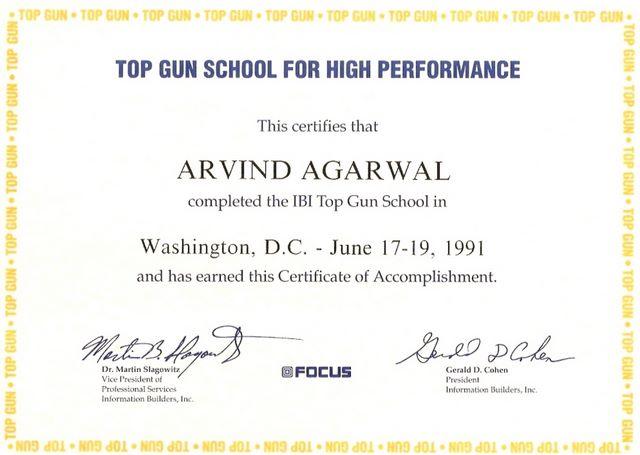 IBI Focus Top Gun School High Performance