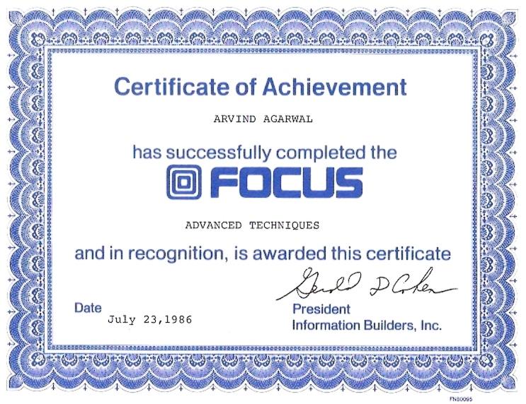 IBI Focus Advanced Techniques