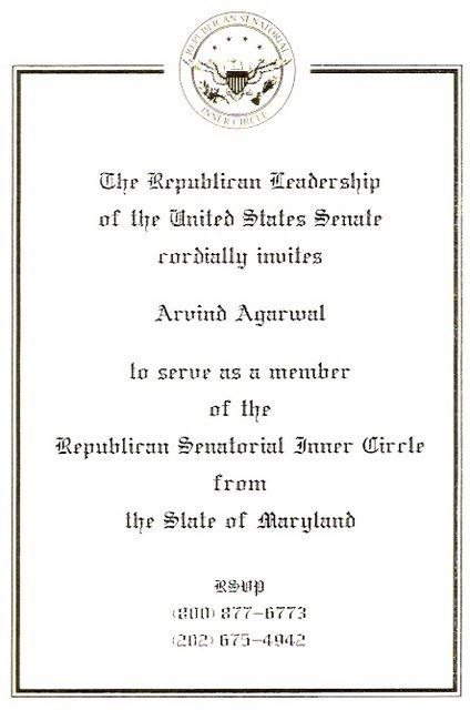 Member of Senatorial Inner Circle