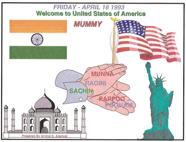 Mummy become American Citizen