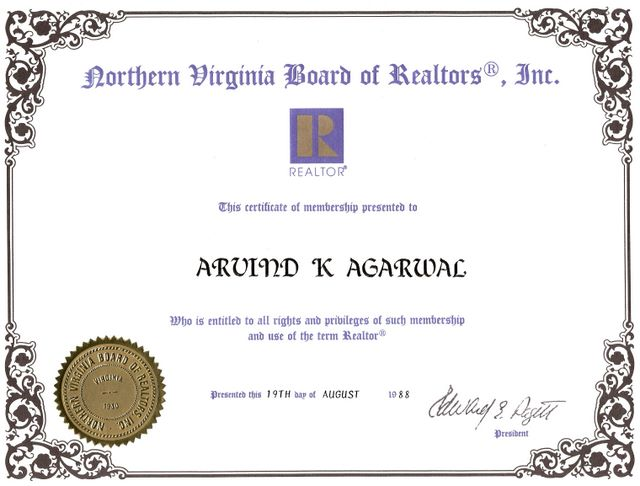 Northern Virginia Board of Realtors - Real Estate Agent