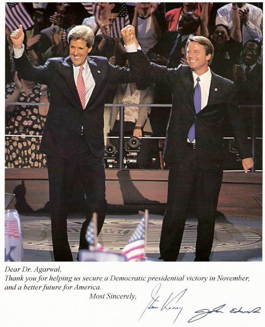Picture of John Kerry & John Edward