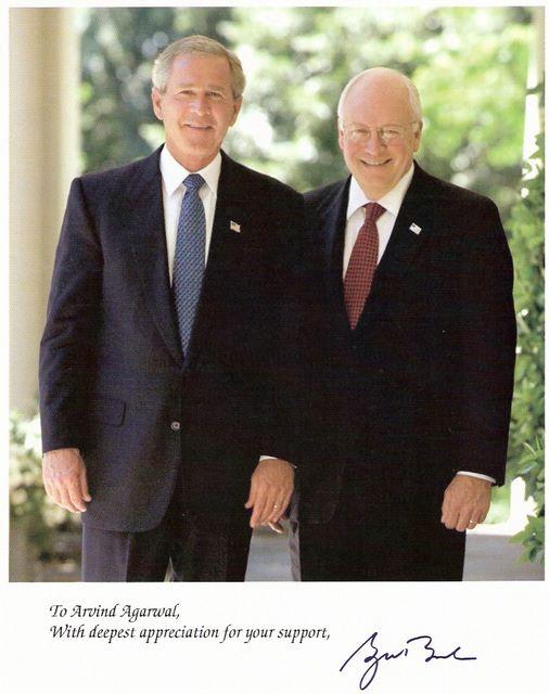 Picture of Bush & VP