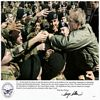 Picture of Bush with troops