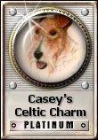 Casey's Celtic Charm Platinum Award (WTA) Dimensions: 110 x 158 Size: 7.99 K