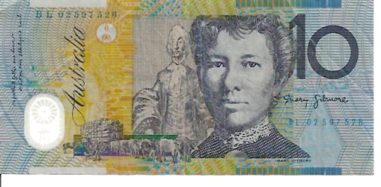 Reserve Bank  10 Dollars  1992-96 ND Issue  Printed on Polymer Plastic Dimensions: 200 X 100, Type: JPEG