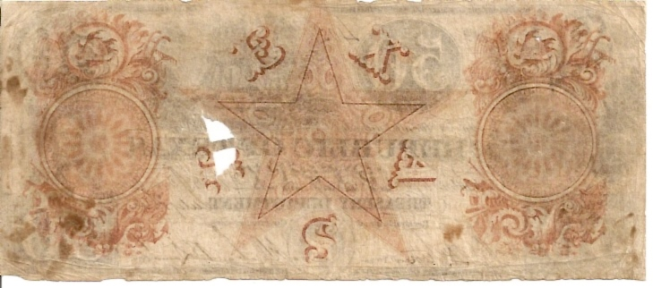 Republic of Texas - Treasury Notes  50 Dollars  Now part of USA  July 1839 Dimensions: 200 X 100, Type: JPEG