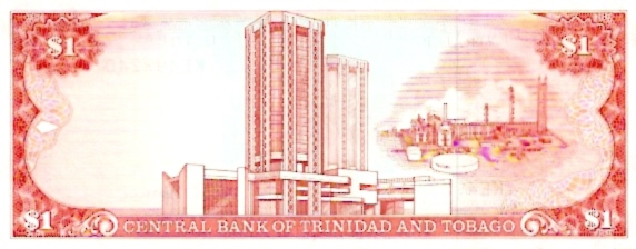 Central Bank of Trinidad & Tobago  1 Dollar  1964 Issue Dimensions: 200 X 100, Type: JPEG