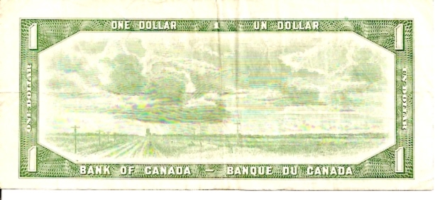Banque DU Canada  1 Dollar  1954 Issue Dimensions: 200 X 100, Type: JPEG