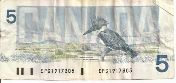 Banque DU Canada  5 Dollar  1986 Issue Dimensions: 200 X 100, Type: JPEG