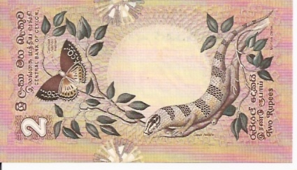 Central Bank of Ceylon  2 Rupees  March 26 1979 Issue Dimensions: 200 X 100, Type: JPEG
