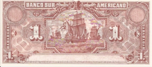 Banco Central Del Ecuador  1 Sucres  1961 Issue Dimensions: 200 X 100, Type: JPEG