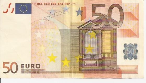 European Union  50 Euros  2002 Issue Dimensions: 200 X 100, Type: JPEG
