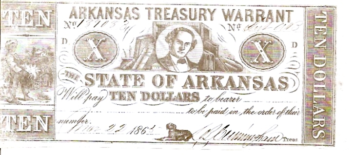 Bank fo Arkansas  1 Dollar  1863 Issue  Not in circulation anymore  AKA - Broken Notes Dimensions: 200 X 100, Type: JPEG