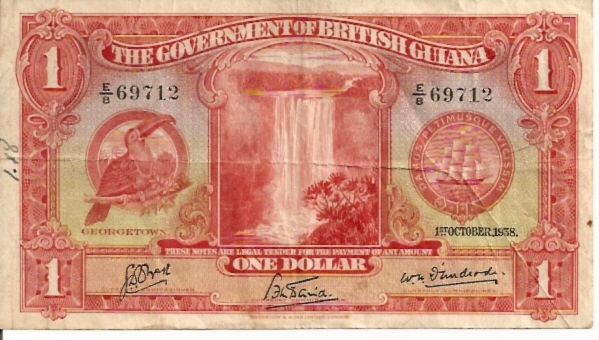 British Administration  1 Dollar  1938 Issue Dimensions: 200 X 100, Type: JPEG