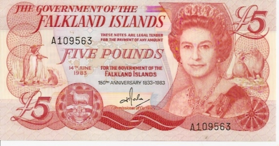 Government Issue  5 Pounds  1983 Issue Dimensions: 200 X 100, Type: JPEG