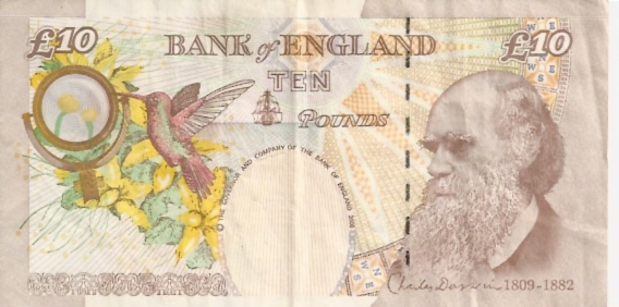 Bank of England  10 Pound  1993-1996 ND Issue Dimensions: 200 X 100, Type: JPEG