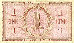 Bank Deutscher Lander  1 Mark   1948 Issue Dimensions: 200 X 100, Type: JPEG
