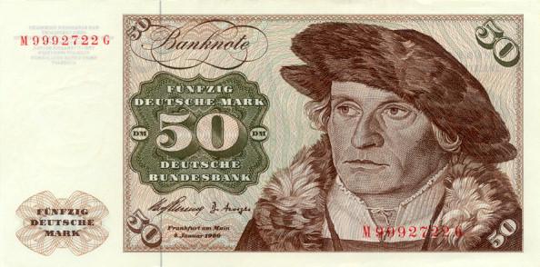 Bank Deutscher Lander  50 Marks   1960 Issue Dimensions: 200 X 100, Type: JPEG