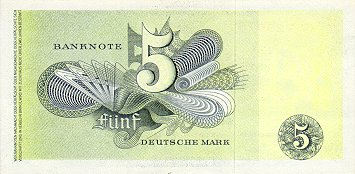 Bank Deutscher Lander  5 Marks   1948 Issue Dimensions: 200 X 100, Type: JPEG