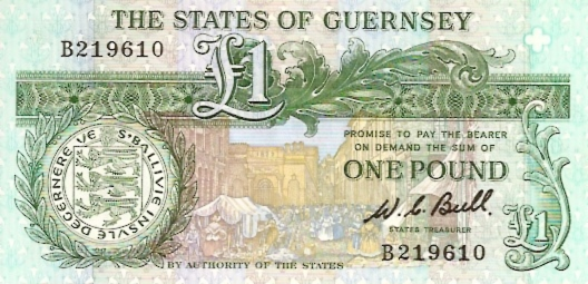 State of Guernsey  1 Pound  1980 ND Issue Dimensions: 200 X 100, Type: JPEG