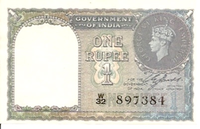Government of India  1 Rupee  ND Issue Dimensions: 200 X 100, Type: JPEG