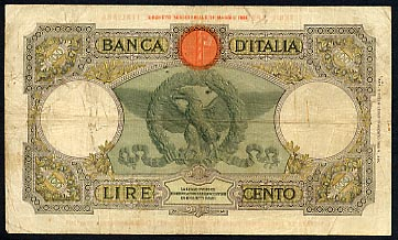 Banco D'italia  10 Lire  Not in circulation anymore Dimensions: 200 X 100, Type: JPEG