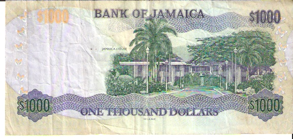 Bank of Jamica  1000 Dollar  1976 ND Issue Dimensions: 200 X 100, Type: JPEG