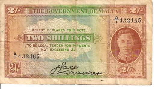 Government ordinance  2 Shilling  1949 Issue Dimensions: 200 X 100, Type: JPEG