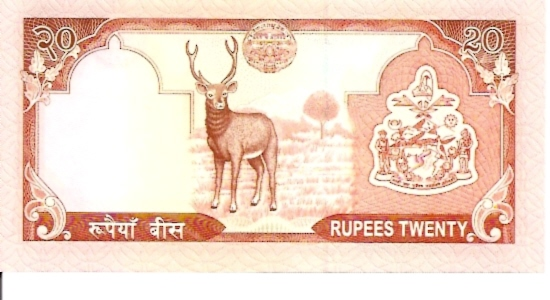 State Bank  20 Rupee  1981-1987 ND Issue Dimensions: 200 X 100, Type: JPEG