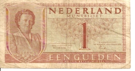 Government of Netherland  1 Gulden   ND Issue Dimensions: 200 X 100, Type: JPEG