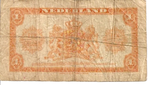 Government of Netherland  1 Gulden   1943 Issue Dimensions: 200 X 100, Type: JPEG