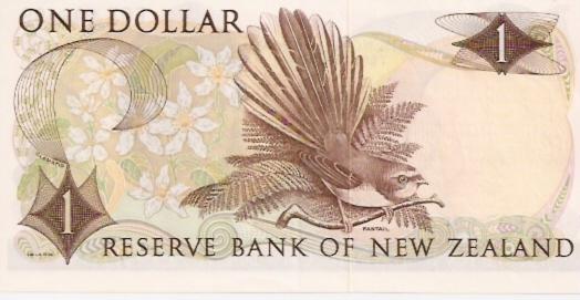 Reserve Bank of New Zeland  1 Dollar  1967 ND Issue Dimensions: 200 X 100, Type: JPEG