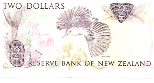 Reserve Bank of New Zeland  2 Dollar  1967 ND Issue Dimensions: 200 X 100, Type: JPEG